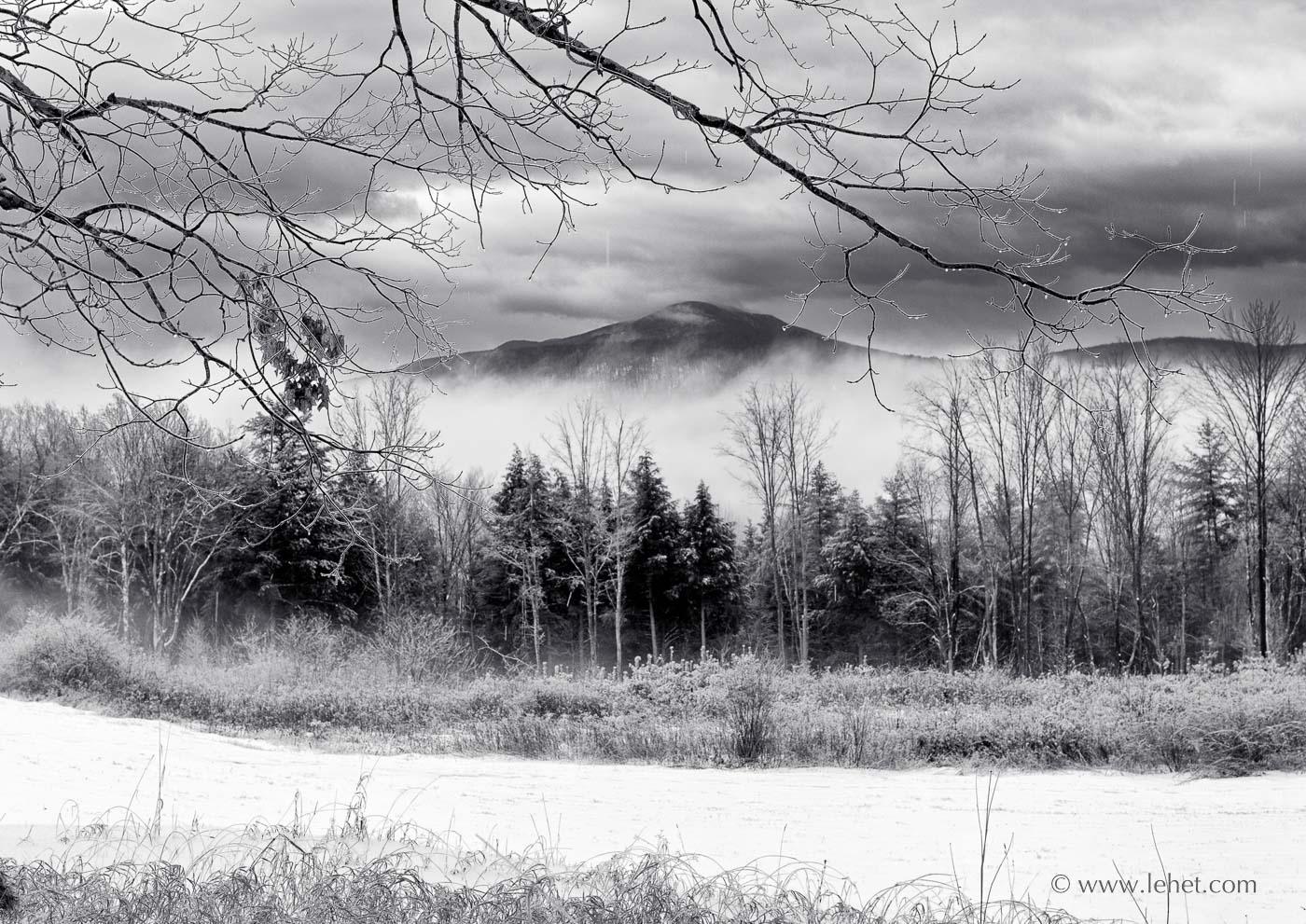 Vermont Ice Storm Ascutney