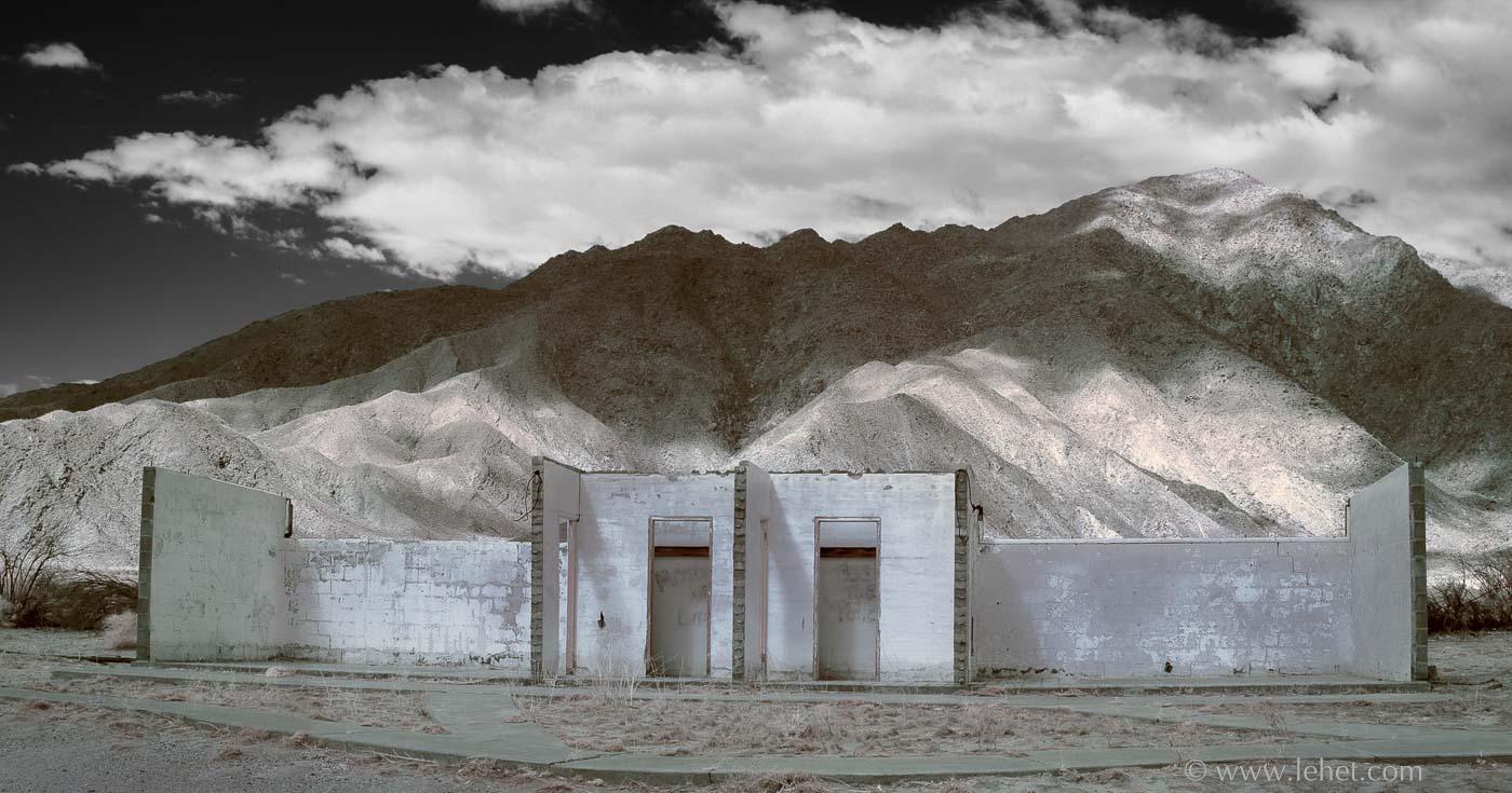 Desert Motel Shell Infrared