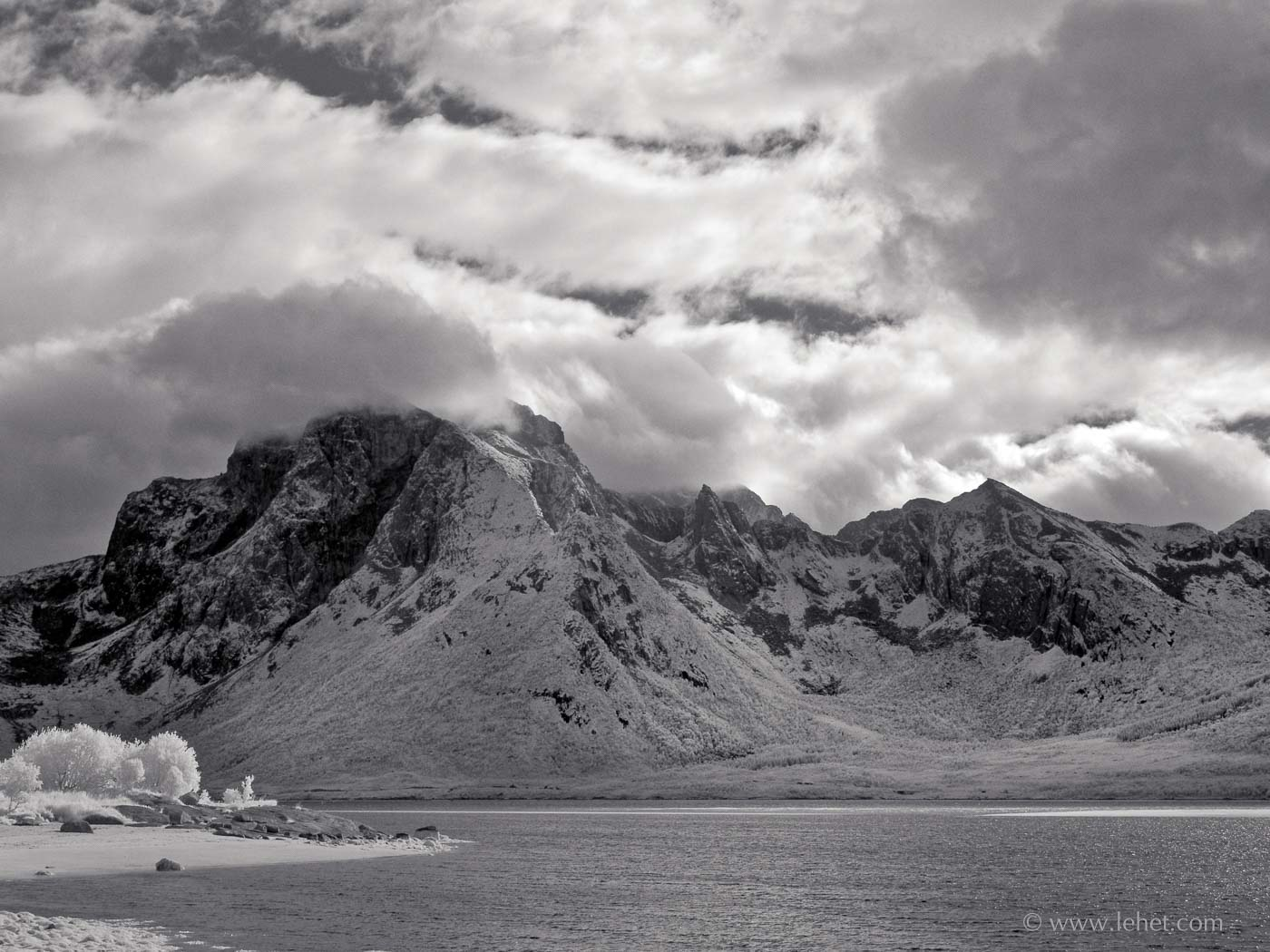 Lofoten Islands Norway, Infrared