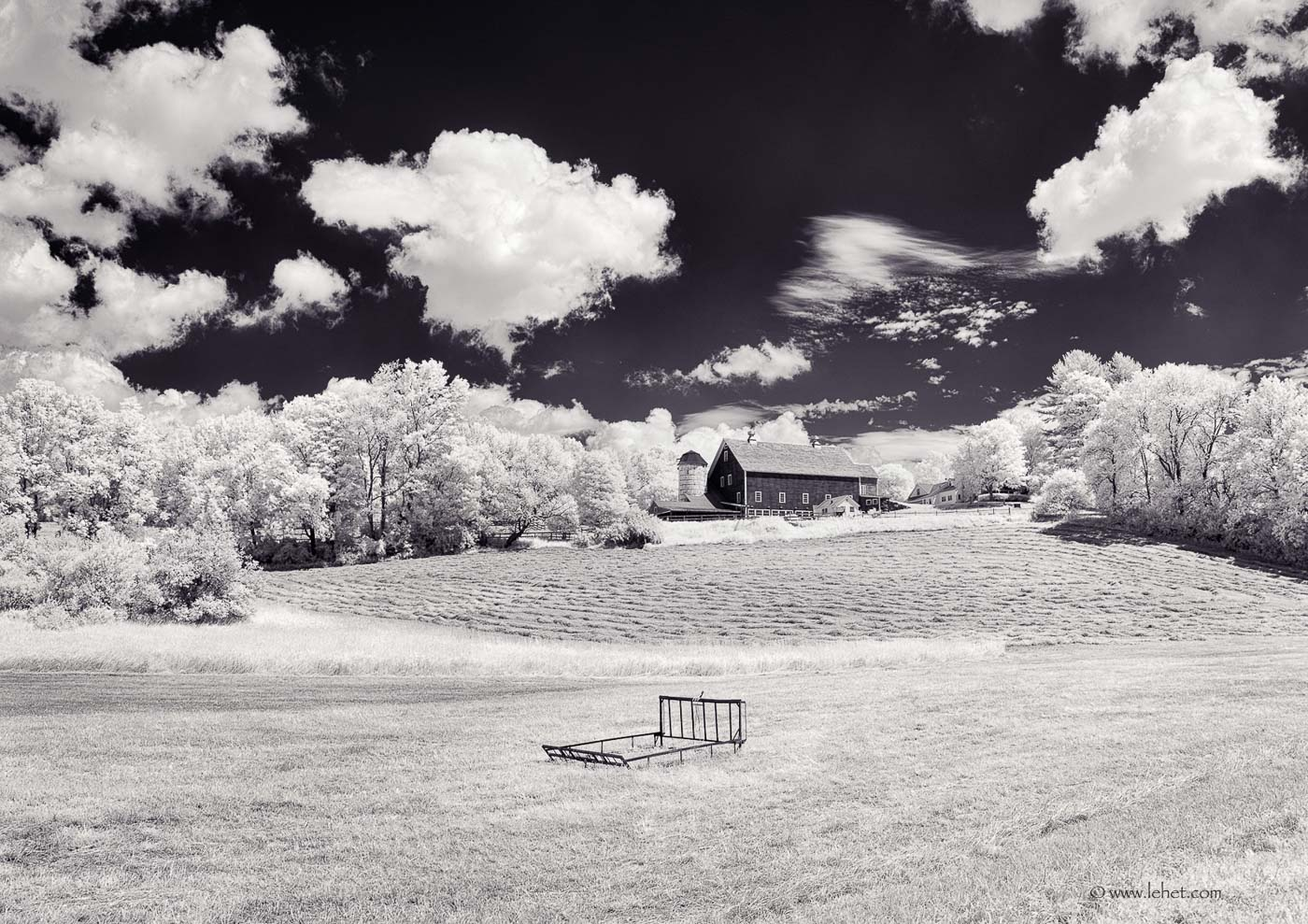Haying and Barn, South Woodstock Vermont