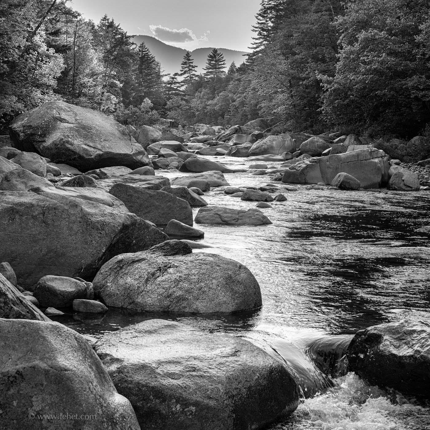 River Rocks, Swift River, White Mountains, NH