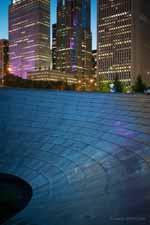 Twilight Bridge, Millennium Park, Chicago