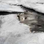 Stream Through Ice Sheets Square