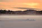 Sunset Mist, Single Ice Fishing Hut, Post Pond, 2006