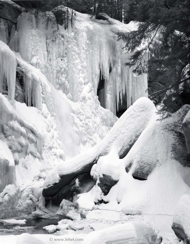 Cavendish Gorge Vermont, Winter