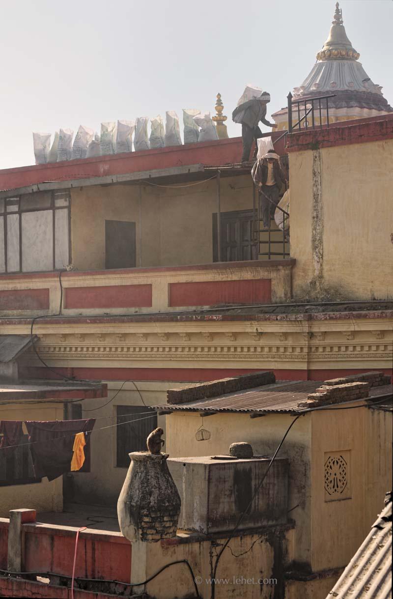 Swayambunath Monastery before Earthquake